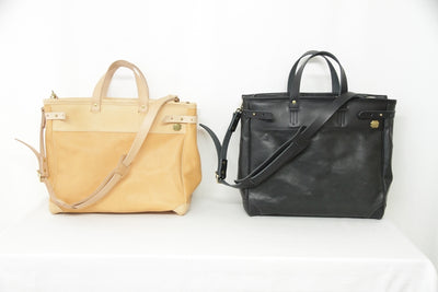 The Superior Labor Travel Bag  (leather) 2 colours AW19 PRE-ORDER