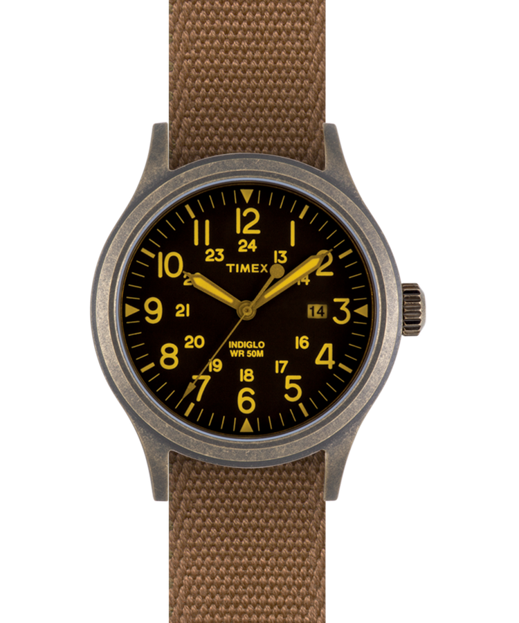 Timex Archive Scout Brook Bronze/Black Coyote/Reflective strap - NOMADO Store
