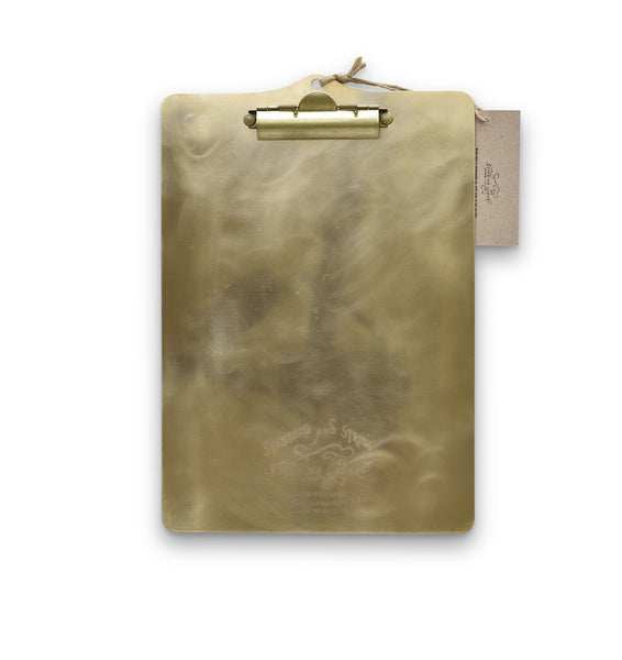 The Superior Labor Brass Clipboard - NOMADO Store