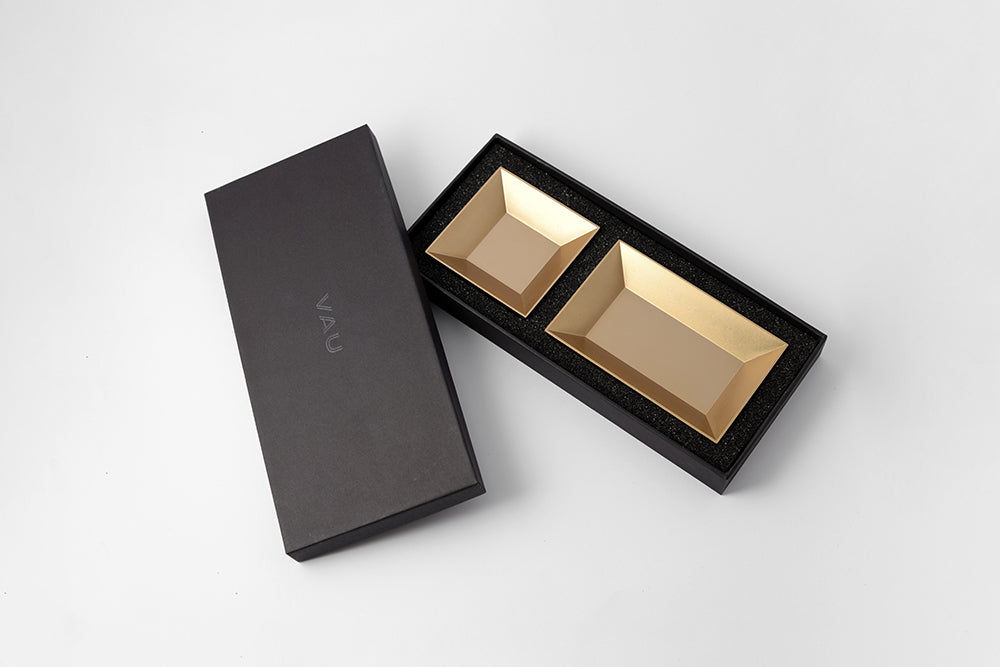 12 organiser - satin gold finish - NOMADO Store
