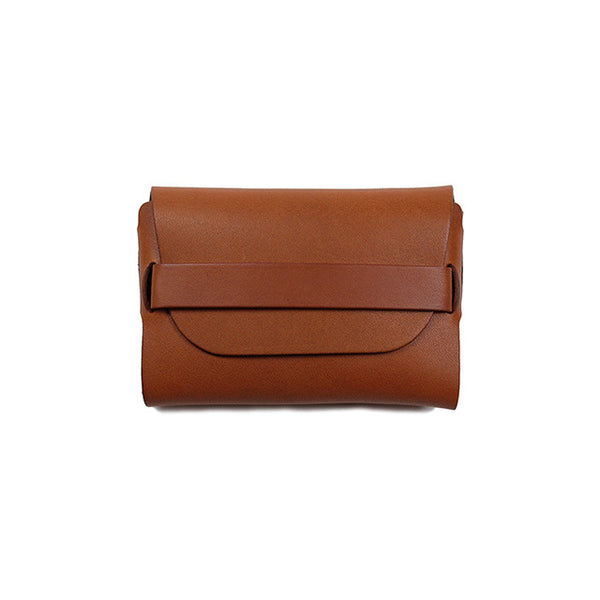 .Urukust STC-02 Card Case (Brown) - NOMADO Store