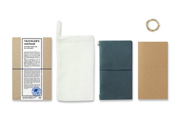 Traveler's Notebook - Regular size BLUE - NOMADO Store