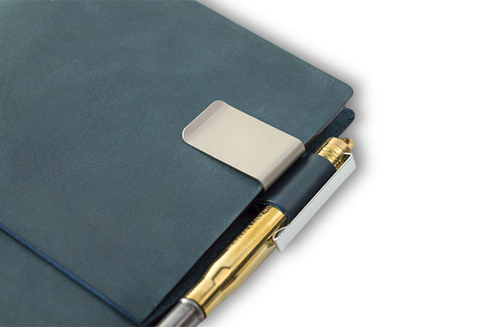 Traveler's Notebook - 016. Penholder <M> BLUE - NOMADO Store