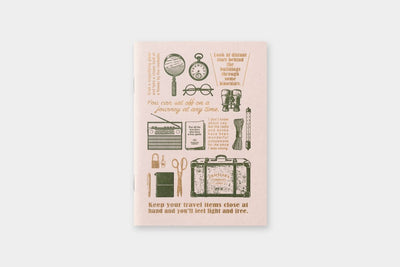 TRAVELER'S LTD Edition - Travel Tools - Passport Size Refill - NOMADO Store