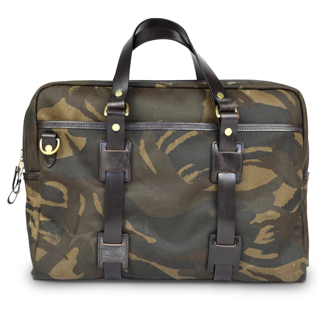 CROOTS WAXED CAMOUFLAGE RANGE LAPTOP BAG - NOMADO Store