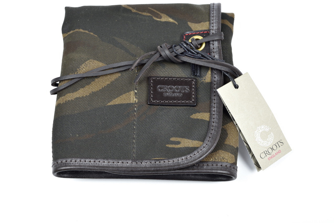 CROOTS WAXED CAMOUFLAGE RANGE TOOL ROLL - NOMADO Store