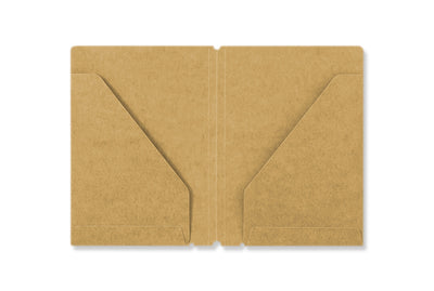 Midori Traveler's Notebook - 010. Kraft File Passport format - NOMADO Store