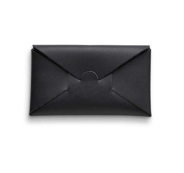 i ro se Seamless Long Wallet (Black leather) - NOMADO Store