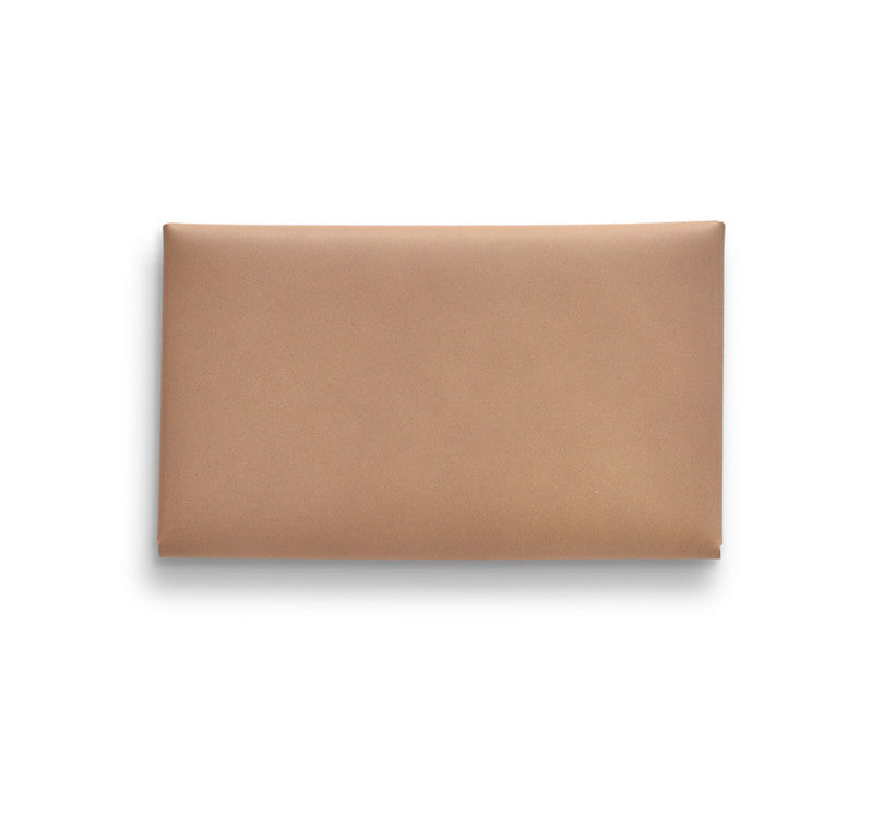i ro se Seamless Long Wallet (Nude/natural leather) - NOMADO Store