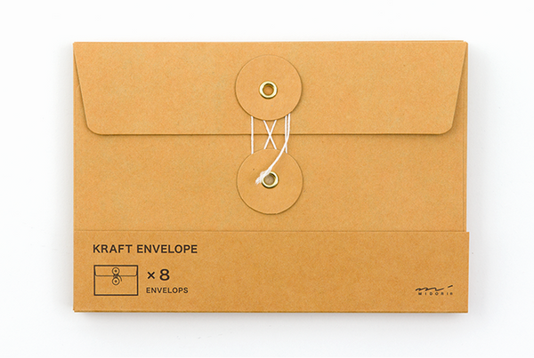 Midori Traveler's Notebook - Kraft Envelope M (2 colours) - NOMADO Store