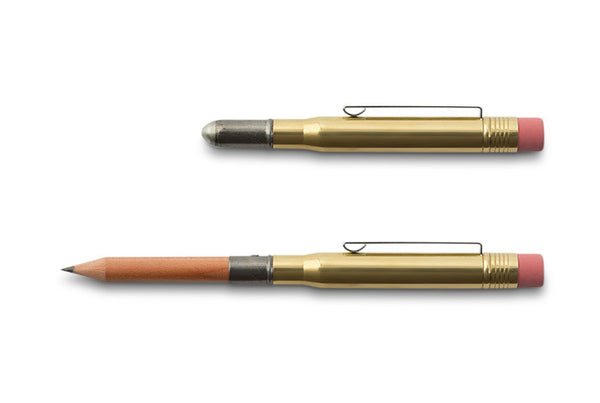 Midori Traveler's Company BRASS - Pencil Solid Brass - NOMADO Store