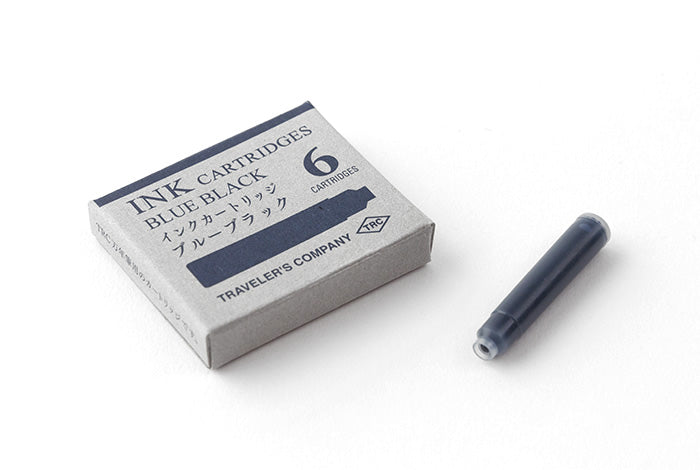 Traveler's Company fountain pen Ink Cartridges Blue Black - NOMADO Store