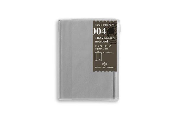 Midori Traveler's Notebook Passport size - 004. Refill Zipper/Card file - PP - NOMADO Store