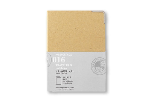 Traveler's Notebook Passport size - 016. Refill Binder
