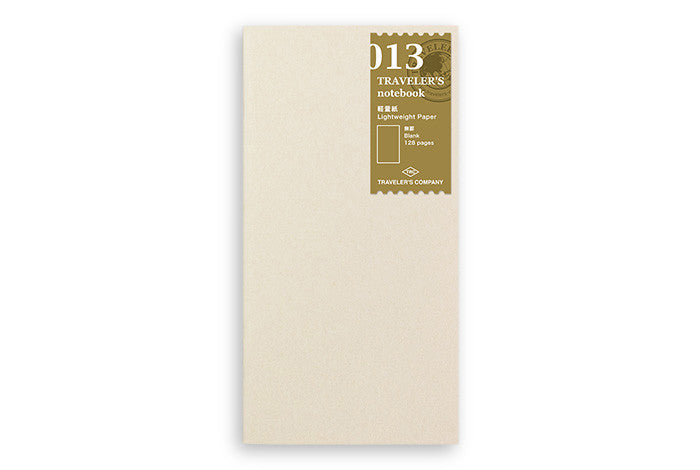 Midori Traveler's Notebook - 013. Light Paper Notebook Refill - NOMADO Store