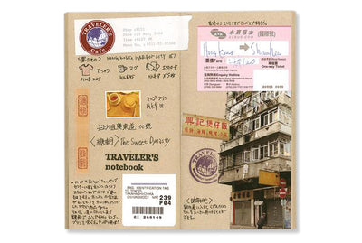 Midori Traveler's Notebook - 014. Kraft Paper Notebook Refill - NOMADO Store