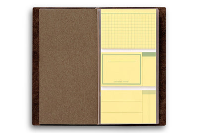 Midori Traveler's Notebook - 022. Sticky Notes - NOMADO Store