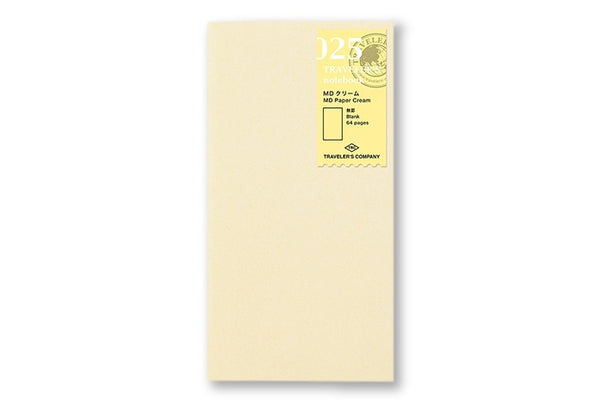 Traveler's Notebook - 025. MD Paper Cream Refill