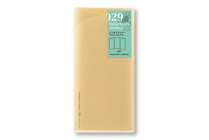Traveler's Notebook - 029. Three Fold Refill