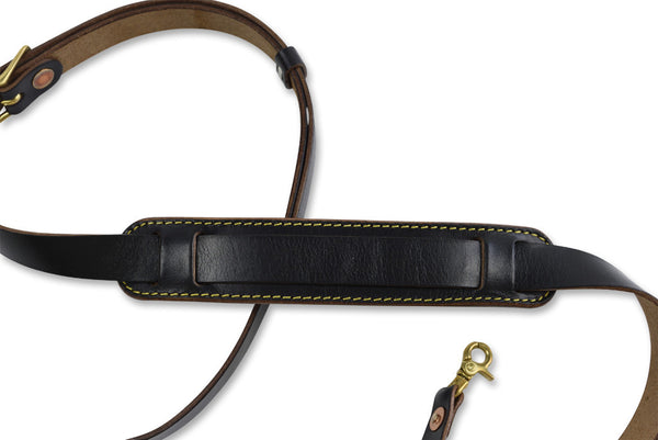 S.F.K. Leather Camera Strap - Black - NOMADO Store