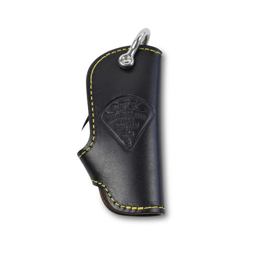 S.F.K leather key case - Black - NOMADO Store