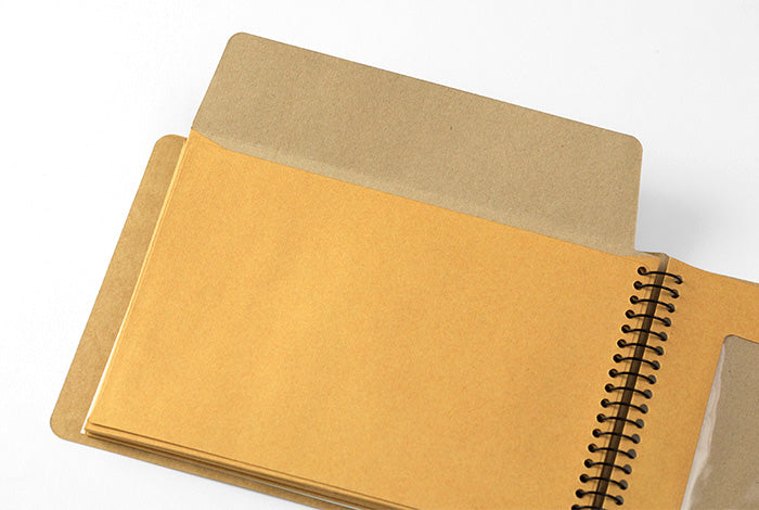 TRC SPIRAL RING NOTEBOOK <B6> Window Envelope - NOMADO Store
