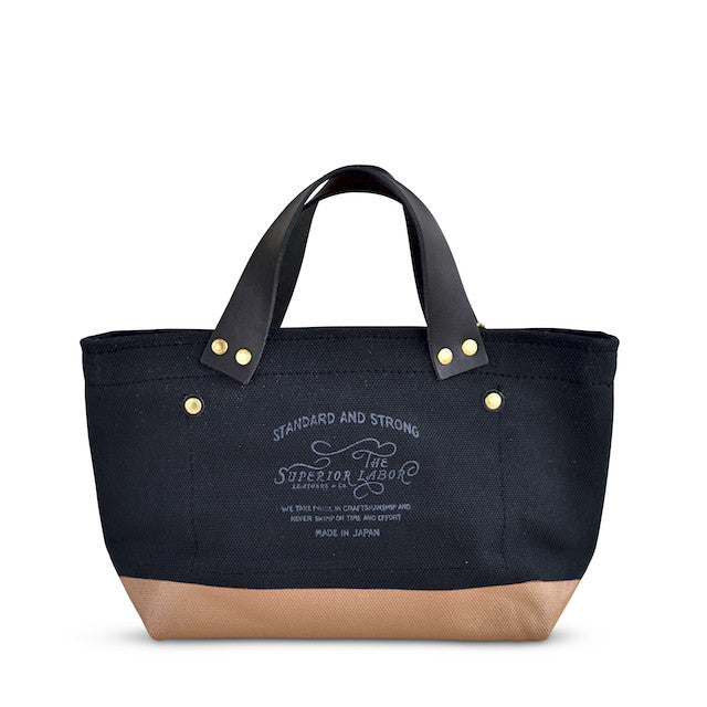 The Superior Labor Engineer Bag Petite Black/Tan Paint - NOMADO Store