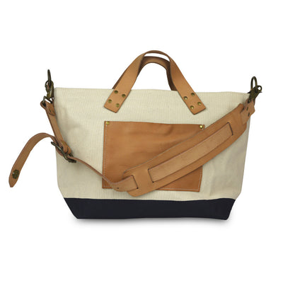 The Superior Labor Engineer Shoulder bag S natural body navy paint PRE-ORDER - NOMADO Store
