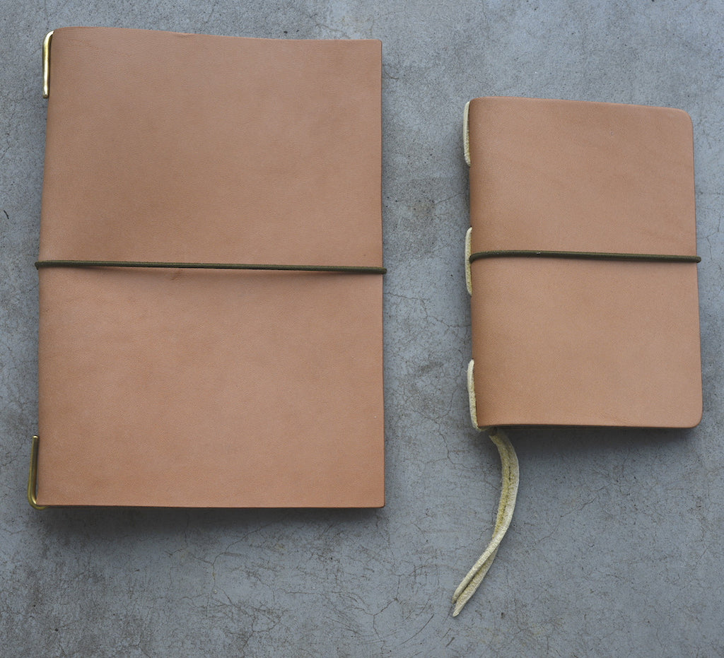 The Superior Labor A5 HL001 Leather Notebook Cover (3 colours) - NOMADO Store
