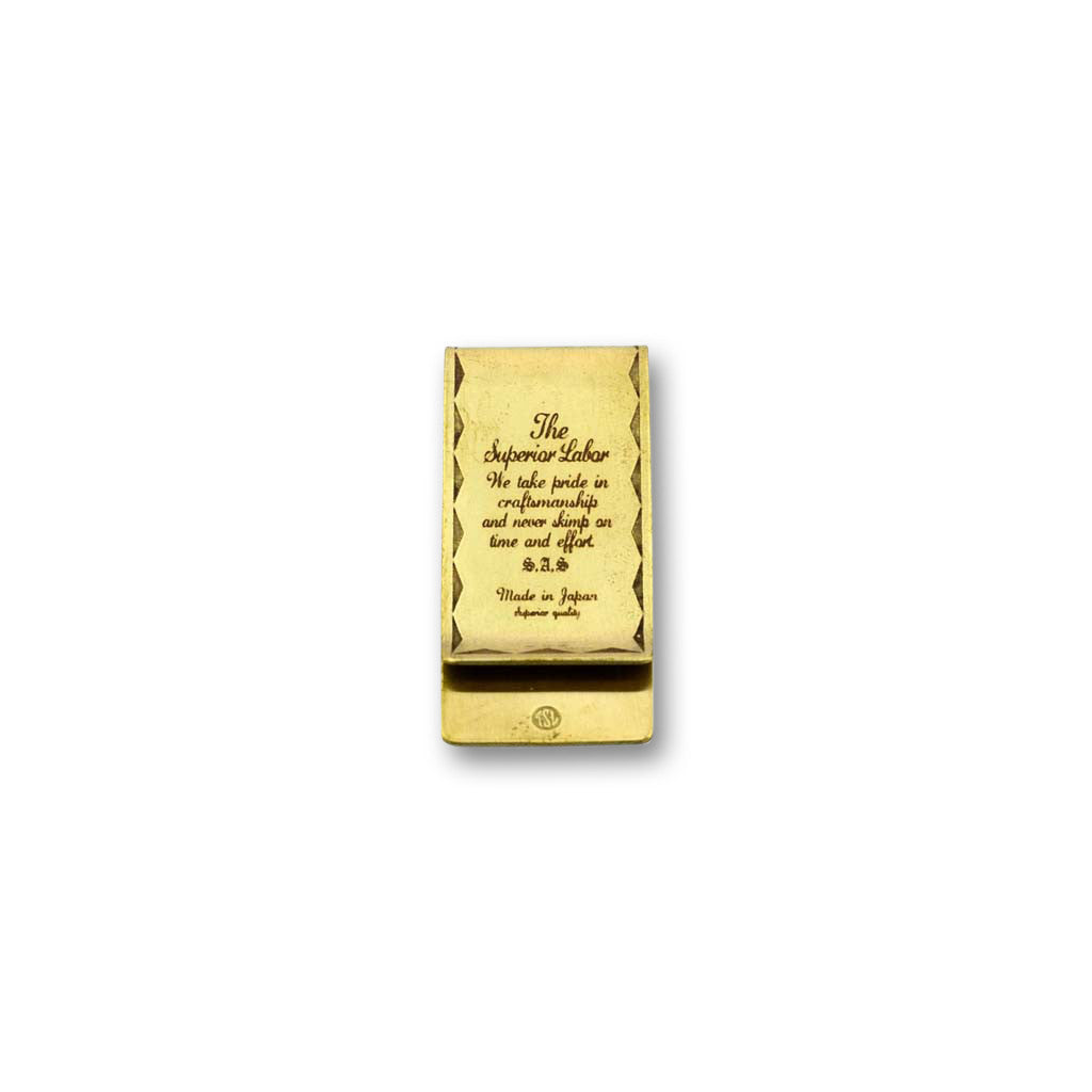 Superior Labor money clip - NOMADO Store