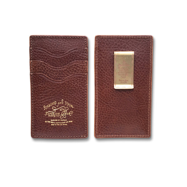 The Superior Labor money clip card case