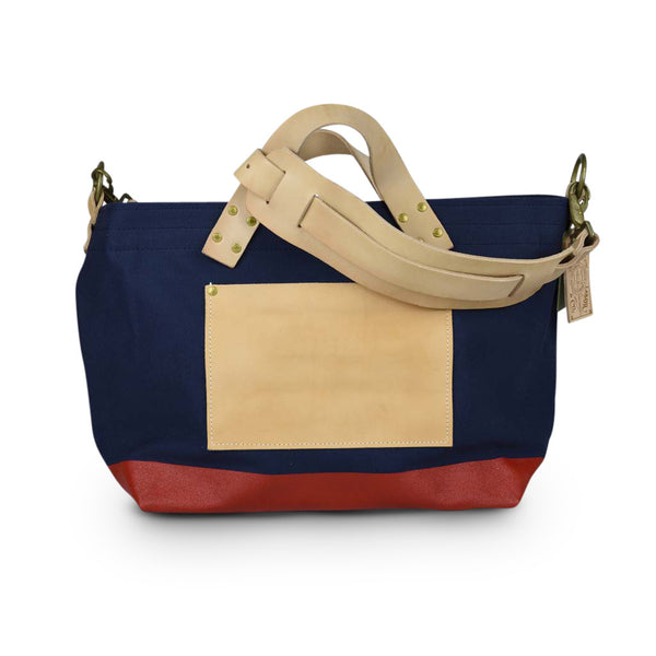 The Superior Labor Engineer Shoulder bag S navy body red paint - NOMADO Store