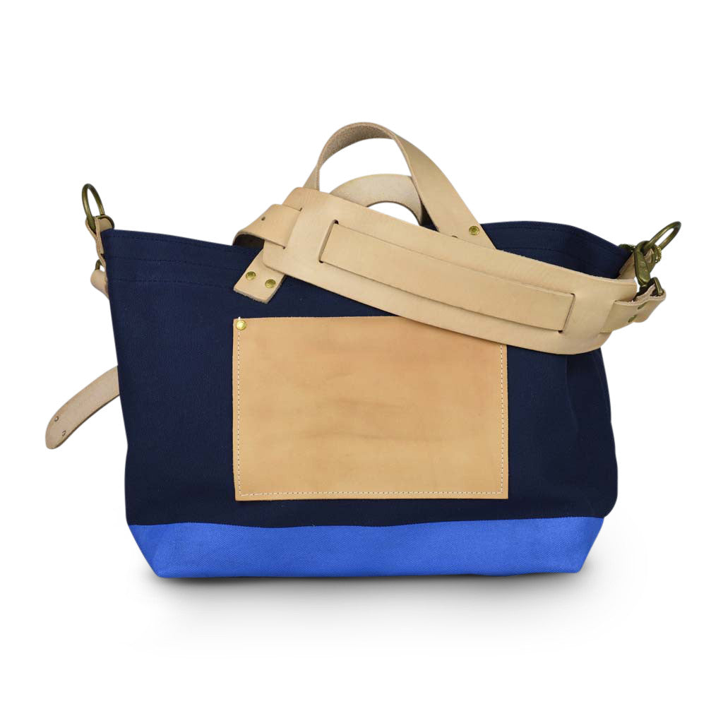 The Superior Labor engineer shoulder bag S navy body sky paint - NOMADO Store