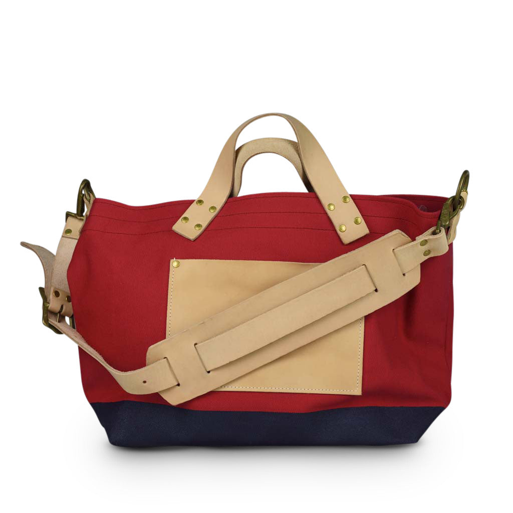 Superior Labor engineer shoulder bag S red body navy paint - NOMADO Store