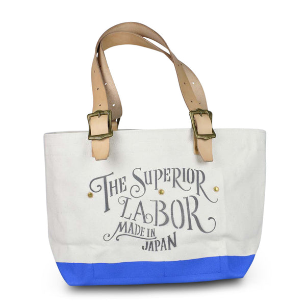 The Superior Labor Engineer Tote bag S natural body sky paint - NOMADO Store