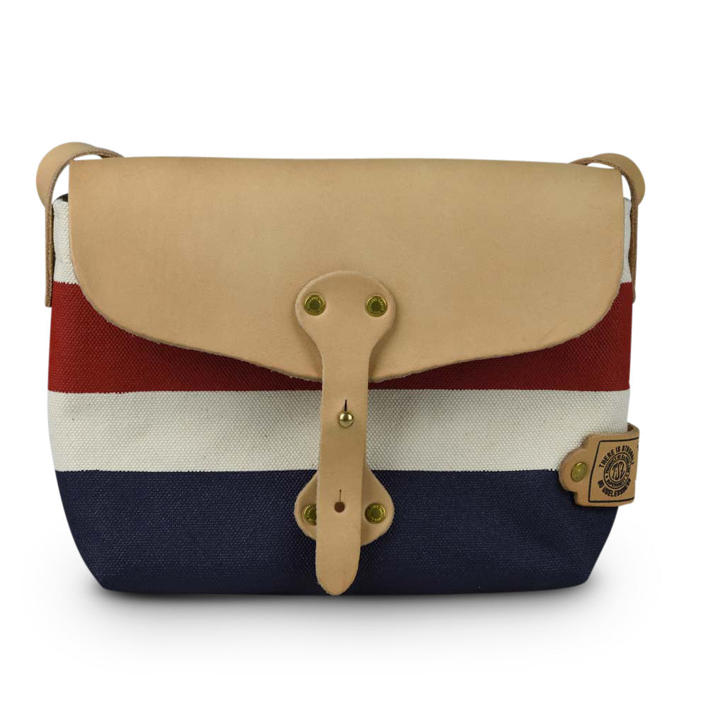 The Superior Labor Paint small Shoulder bag red+navy - NOMADO Store