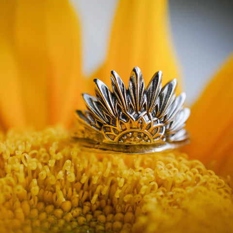 Sunflower Ring - Pre Order