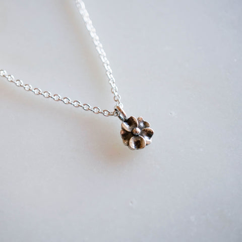 Single Flower Pendant