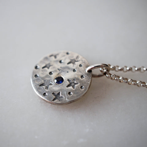 Star Necklace - Tanzanite