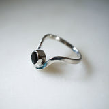 Arc Ring with Spinel