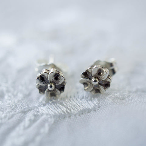 Forget Me Not Stud Earring