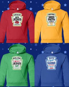 Youth Condiment Hoodies