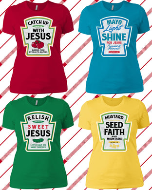 Condiment Tees For Her