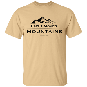 Faith Move Mountain Tee