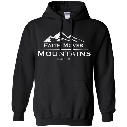 Faith Moves Hoodie
