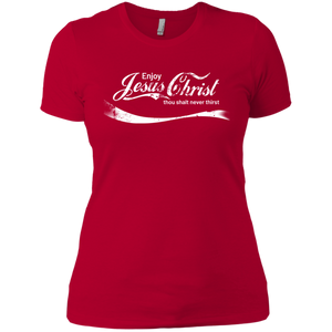 Enjoy Jesus Christ Tee for Her