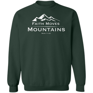 Faith Moves Mountains Crewneck