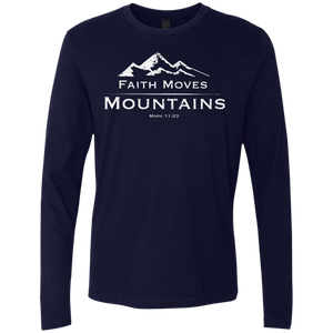 Faith Moves Mountains Longsleeve