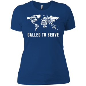 Called to Serve Tee for Her