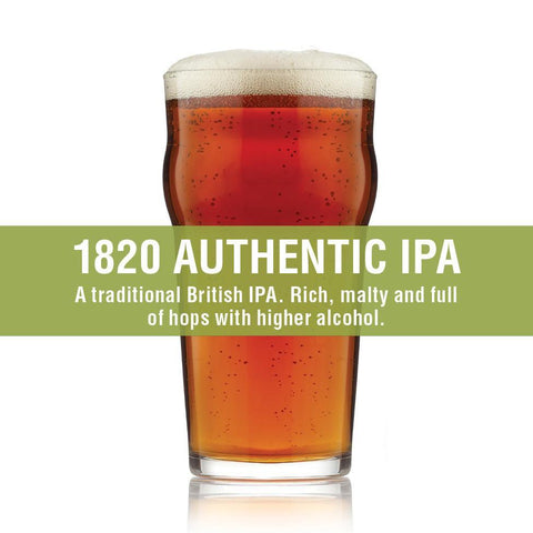 1820 Authentic IPA - Best Case DIY Beer Recipe Kit